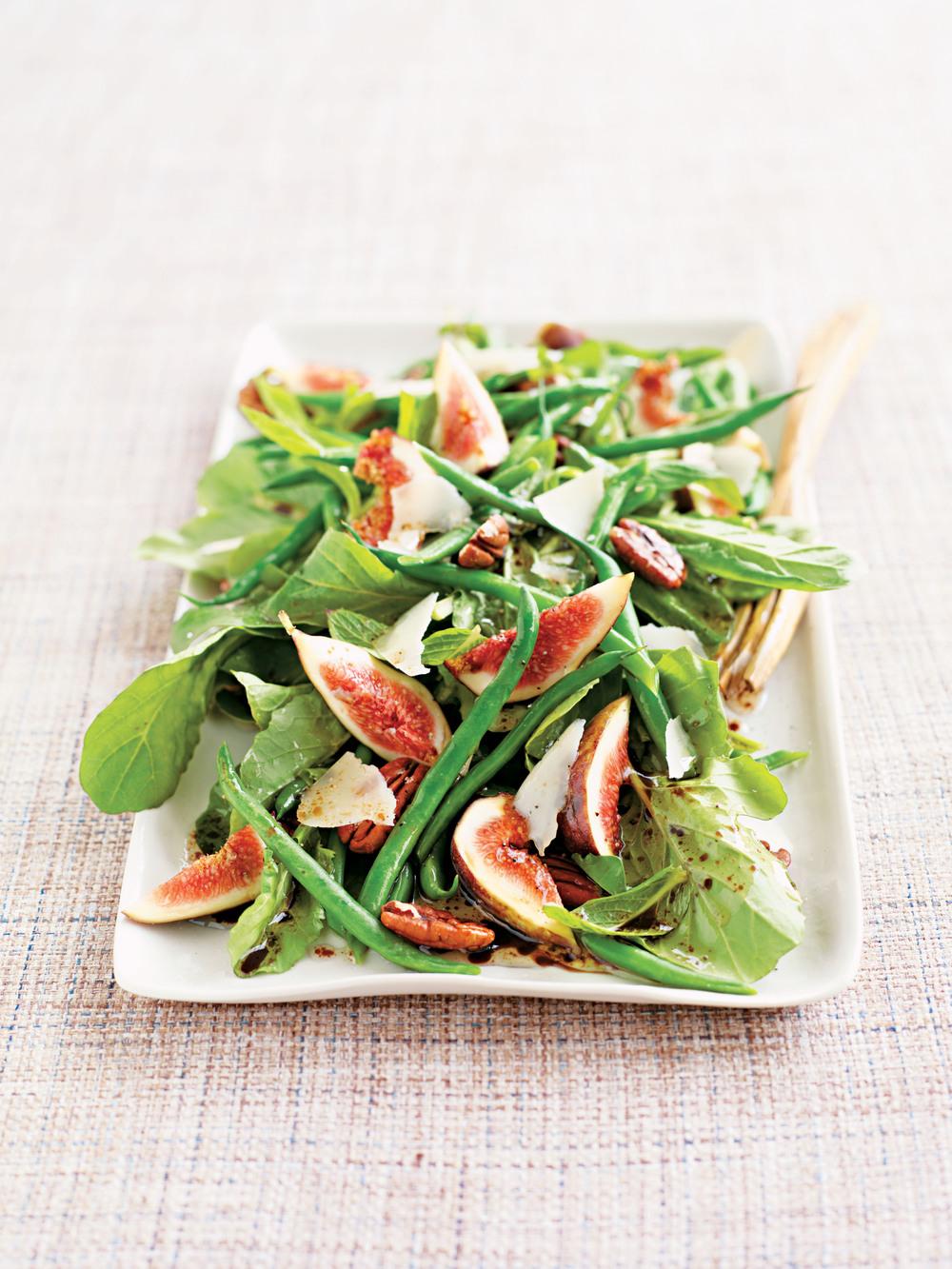 Fig, Bean, & Toasted Pecan Salad