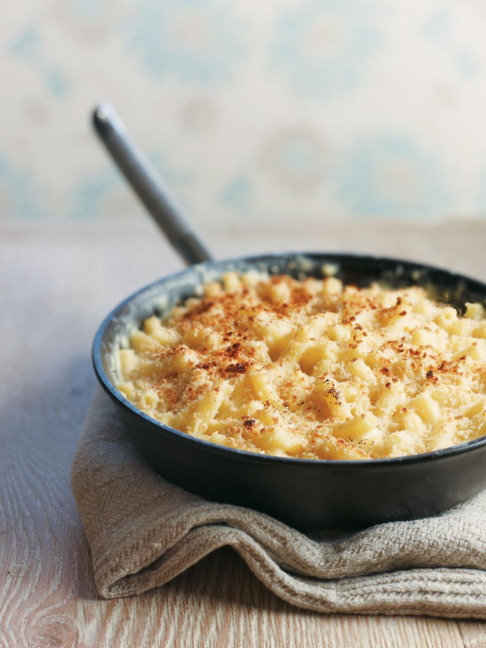 Frying Pan Macaroni Cheese