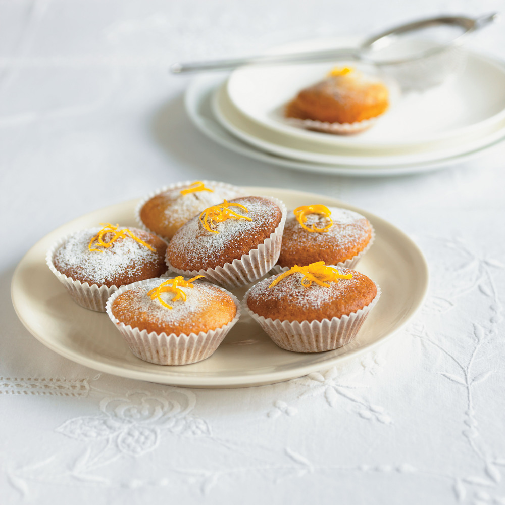 Ginger and Lemon Cupcakes
