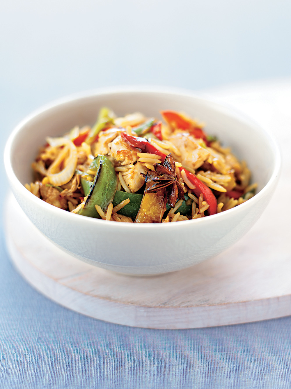 Chinese Chicken with Peppers